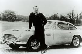 DB5 mit James-Bond-Darsteller Sean Connery