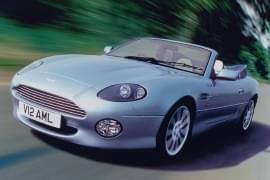 Aston Martin DB7 von vorn