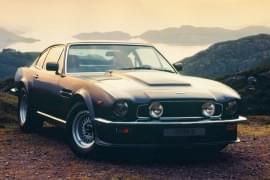 Aston Martin V8 Vantage von vorn