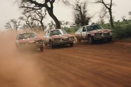 Citroën CX bei der Rallye Senegal