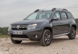 Dacia Duster von vorn