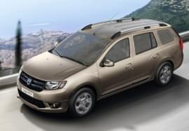 Dacia Logan von oben