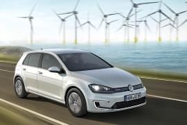 VW e-Golf von vorn