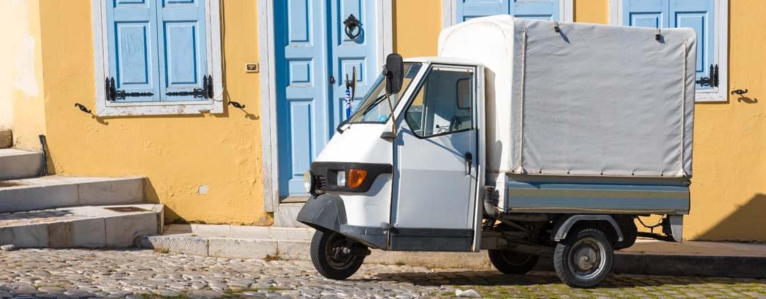 Italien 3 rad auto Online Translator