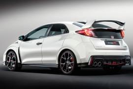 Honda Civic Type R Heckansicht