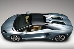 Lamborghini Aventador von oben