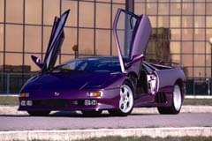 Lamborghini Diablo von der Seite