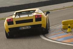 Lamborghini Gallardo Superleggere von hinten