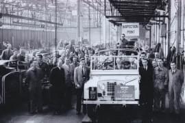 Land Rover im Stammwerk Solihull
