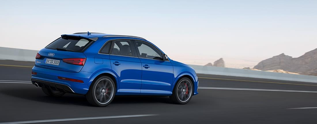Audi Q3 braun