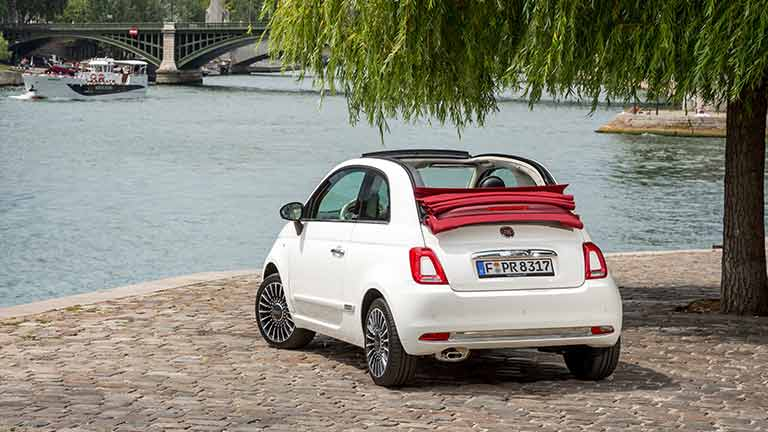 fiat 500 cabrio infos preise alternativen autoscout24. Black Bedroom Furniture Sets. Home Design Ideas