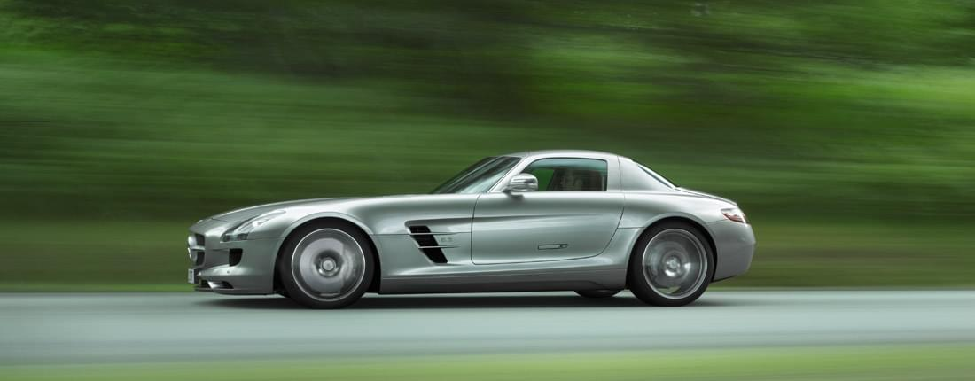 Mercedes-Benz SLS Coupe