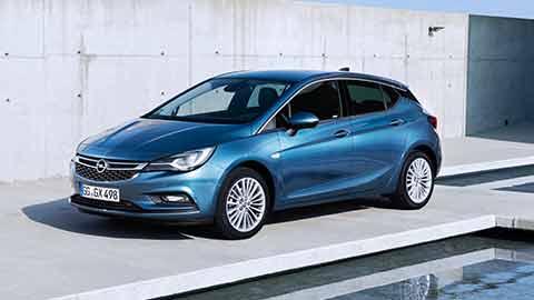 Opel Astra - Ansicht