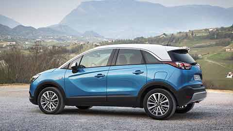Opel Crossland X - Ansicht