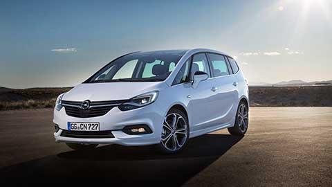 Opel Zafira - Ansicht