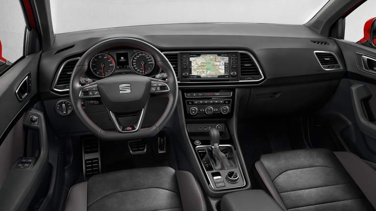 seat ateca gebrauchtwagen finden bei autoscout24. Black Bedroom Furniture Sets. Home Design Ideas