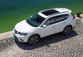 Nissan X-Trail von oben