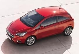 Opel Corsa von oben