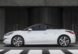 Peugeot RCZ von der Seite