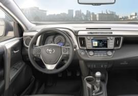 Toyota RAV4 von innen