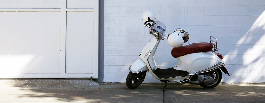 Motorroller 500 ccm