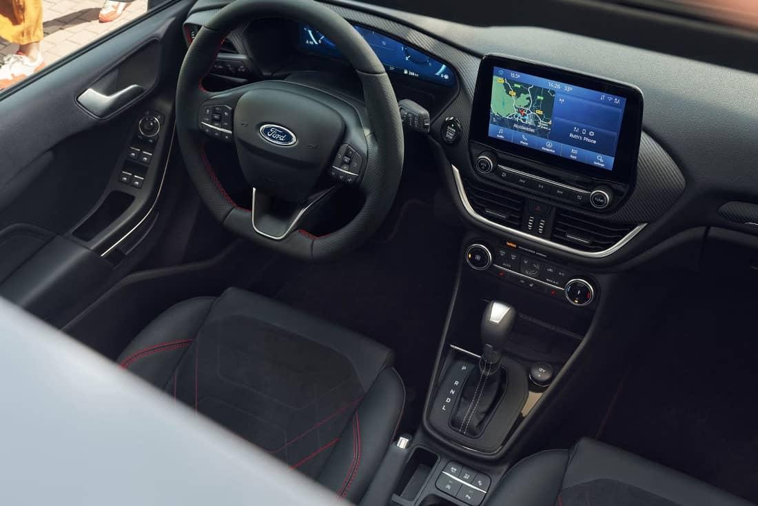 Ford Fiesta 2022 Facelift Interior