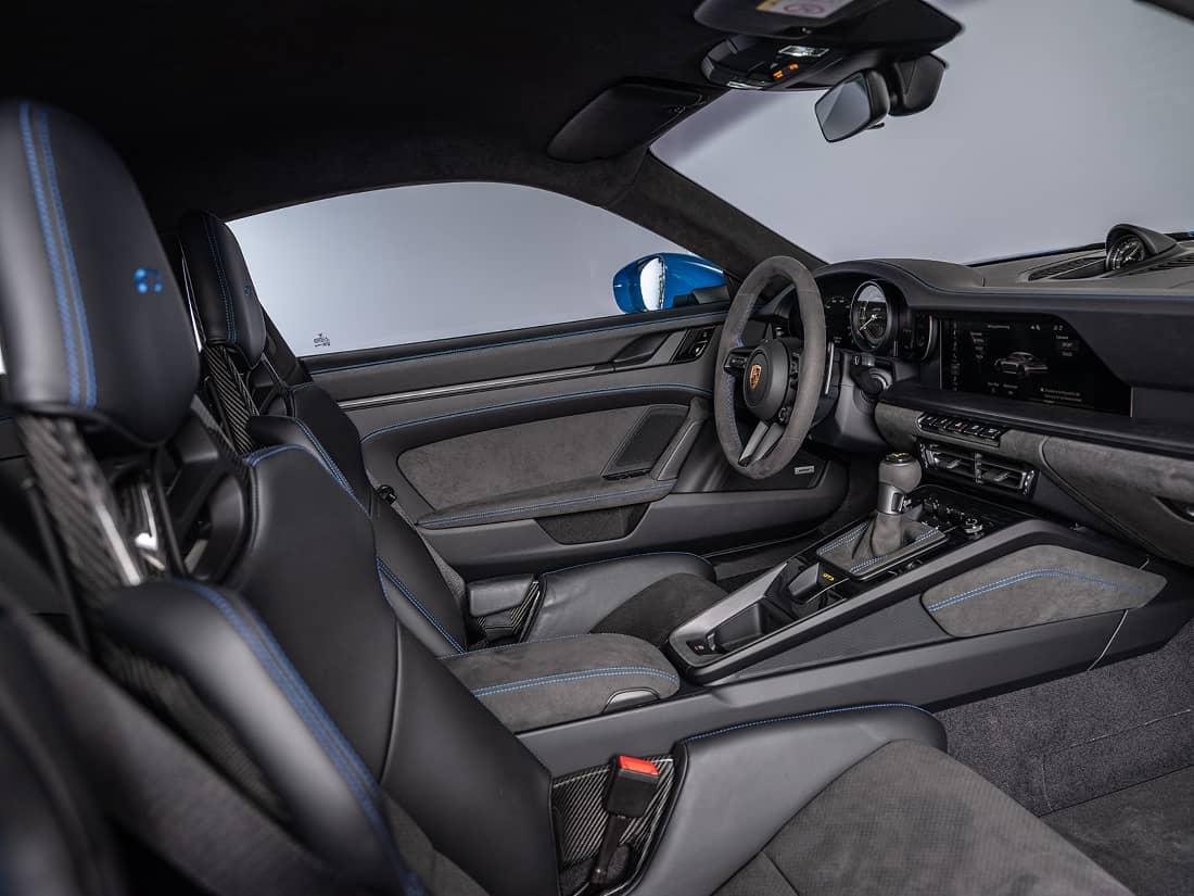 Porsche GT3 interior