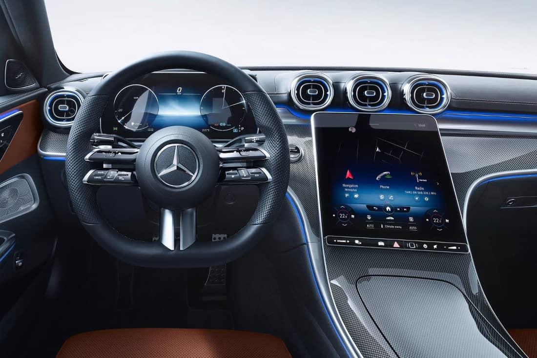 Mercedes C Class 2021 interior
