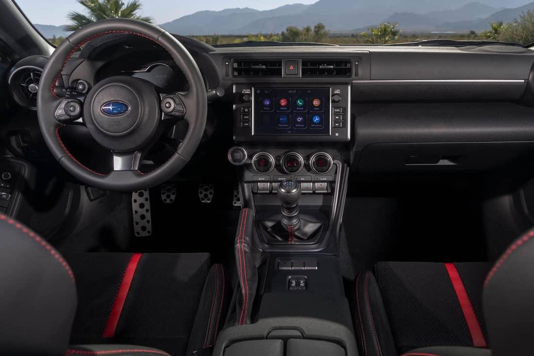 Subaru BRZ 2021 interior