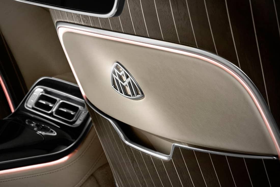 Mercedes Maybach S-Class detail