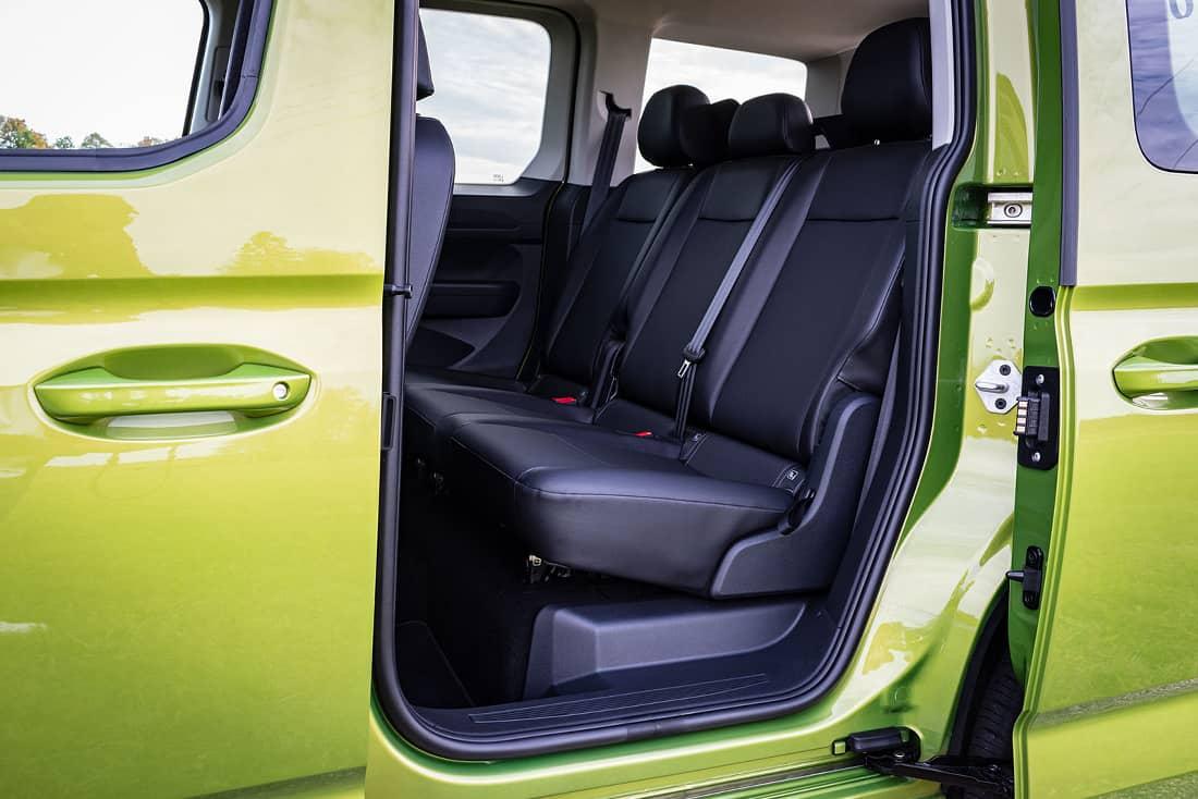 Volkswagen Caddy V rear seats