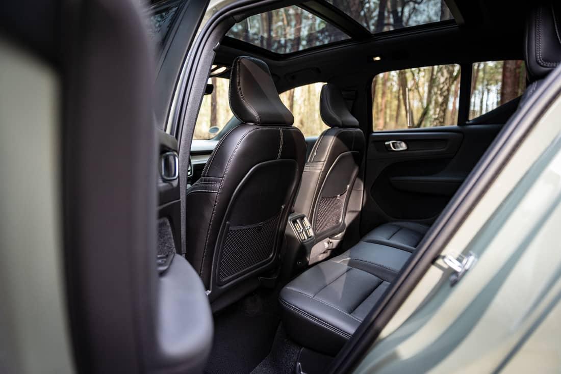 Volvo XC40 Recharge Rearseats