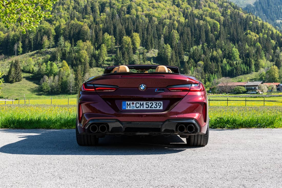 BMW-M8-Competition-Cabrio-Rear