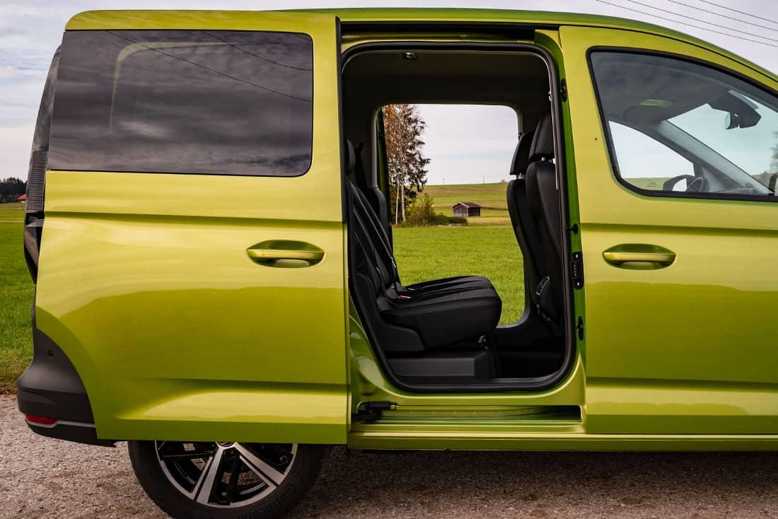 Volkswagen Caddy V Doors