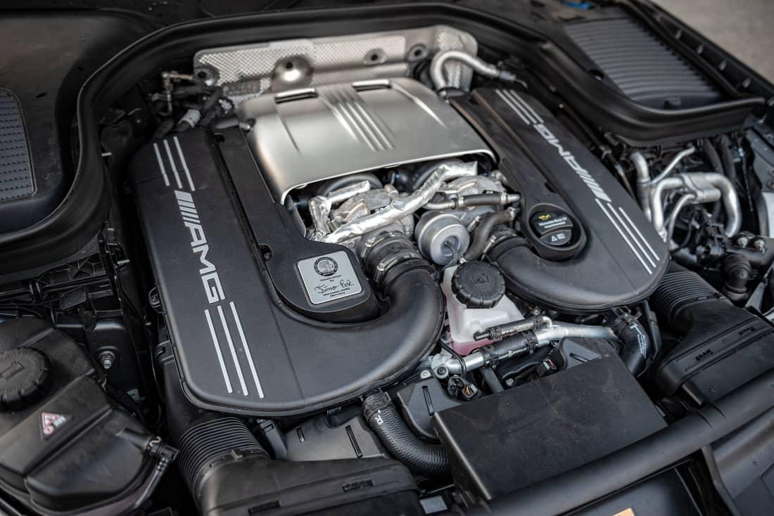 Mercedes-AMG GLC63S engine