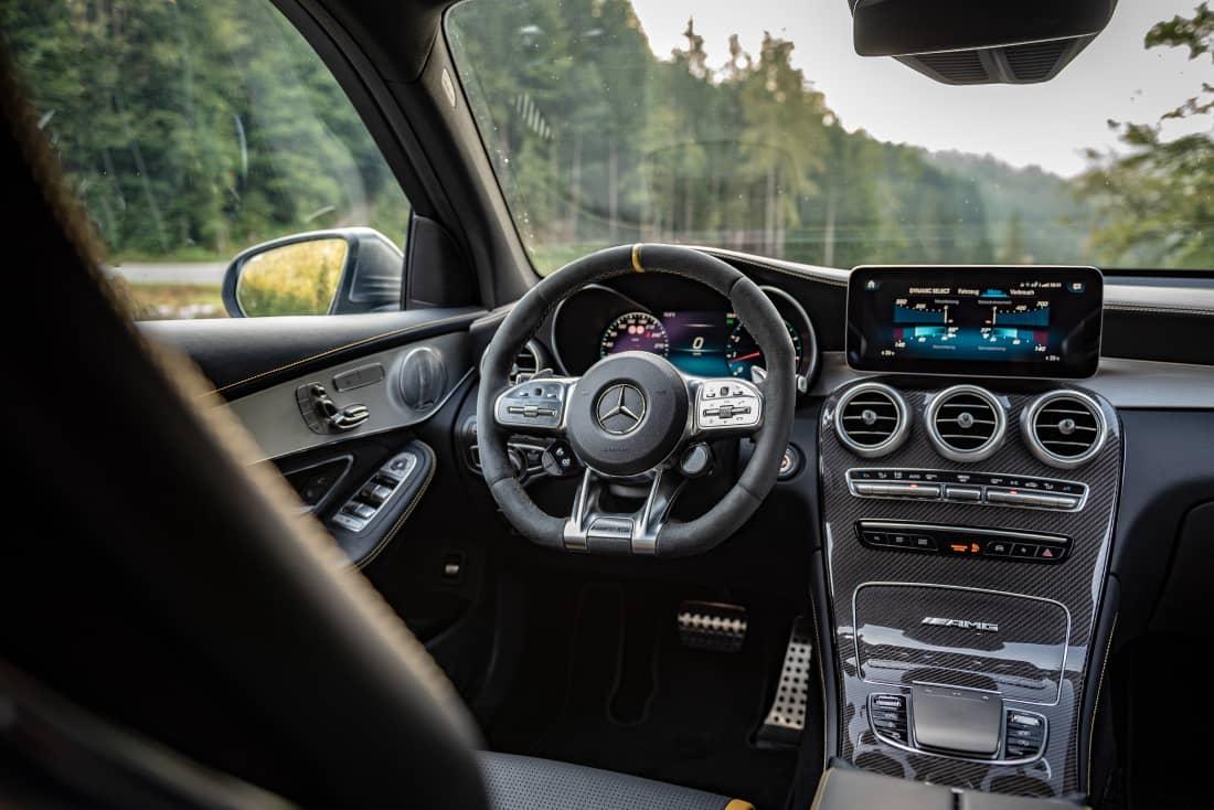Mercedes-AMG-GLC63S interior
