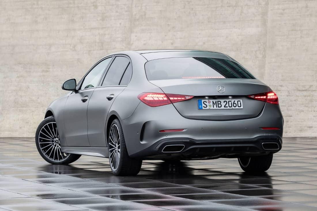 Mercedes-C-Class-2021-rear