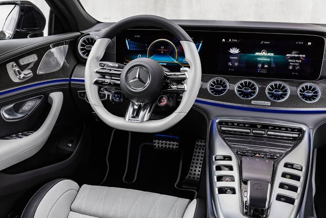 AMG GT 4 door interior