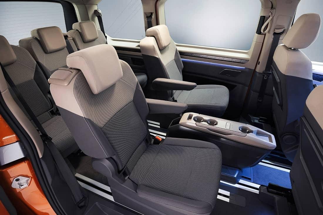 VW T7 rear seats