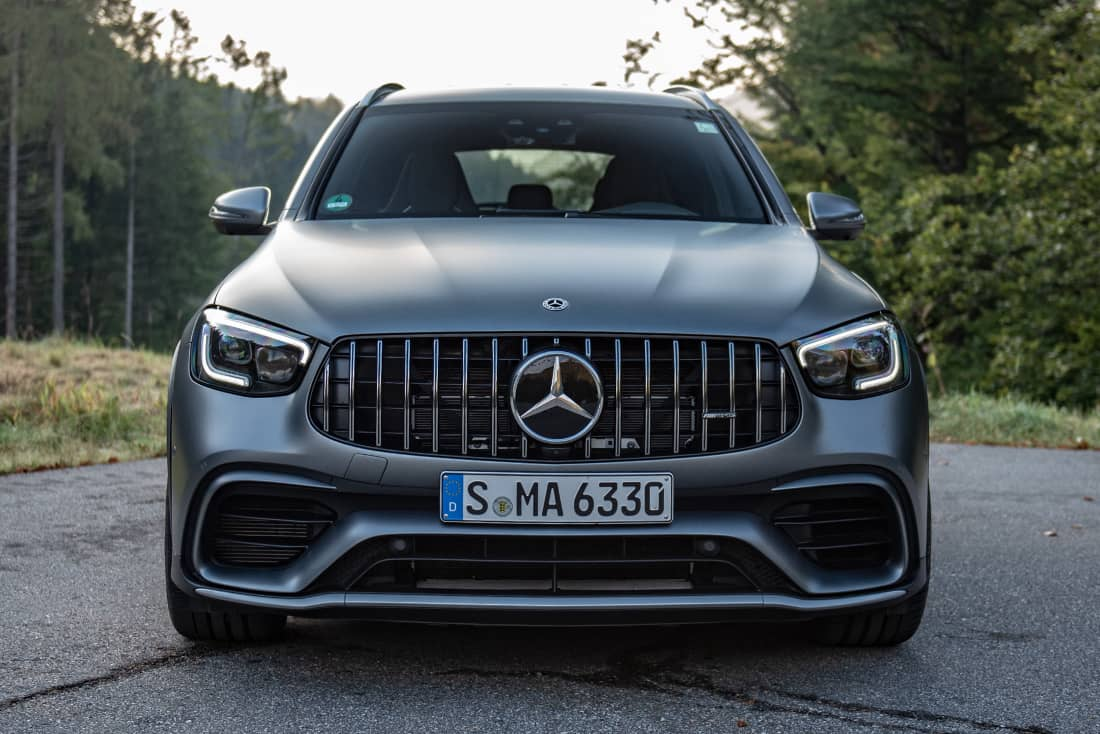 Mercedes-AMG GLC63S front