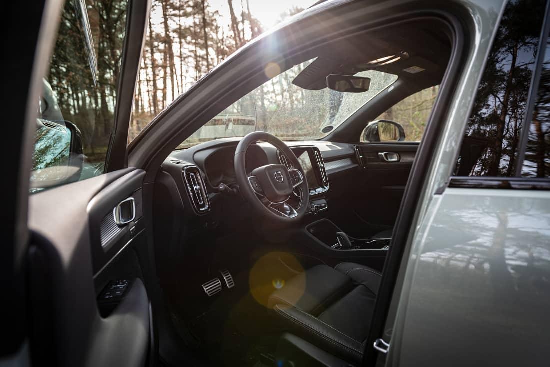 Volvo XC40 recharge cockpit