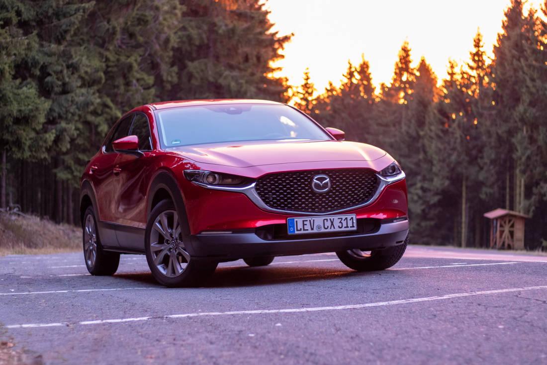 Mazda CX-30 - La prova delle 1.8 Skyactiv-D e 2.0 Skyactiv ...