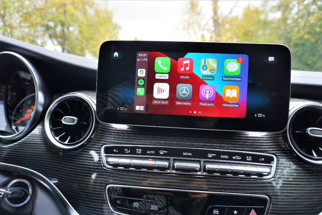 Mercedes-Benz V-Class V300d Int Apple CarPlay