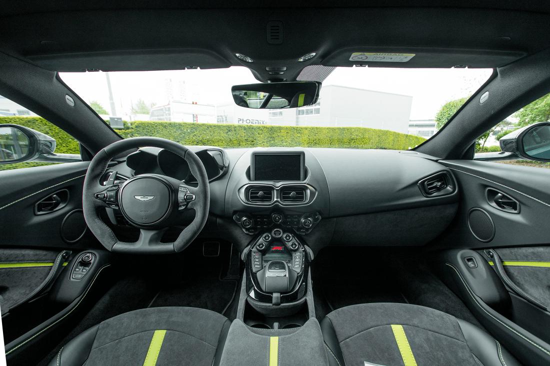 Aston Martin Vantage F1 Edition cockpit
