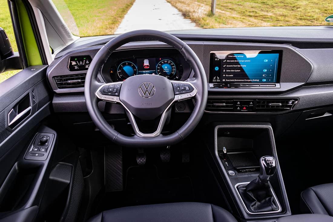 Volkswagen Caddy V interior