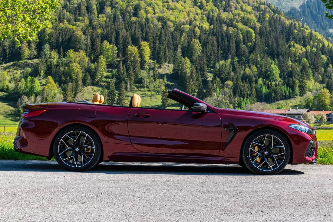 BMW-M8-Competition-Cabrio-Side