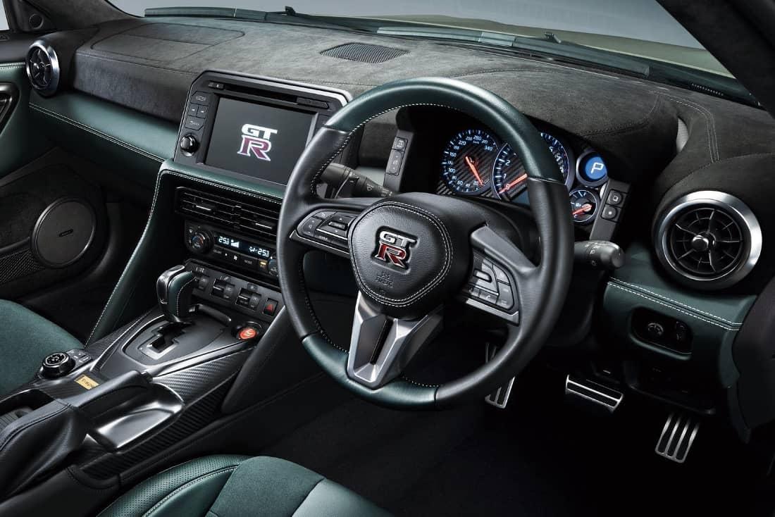 Nissan GT R 2022 interior
