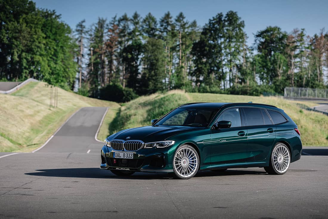 BMW-Alpina-B3-Touring-2020-Front-Side