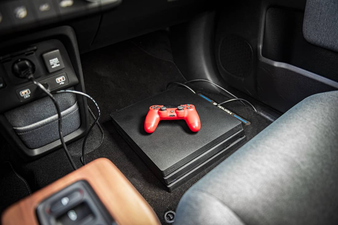 Honda-e-2021-PlayStation