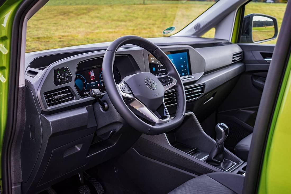 Volkswagen Caddy V interior 2